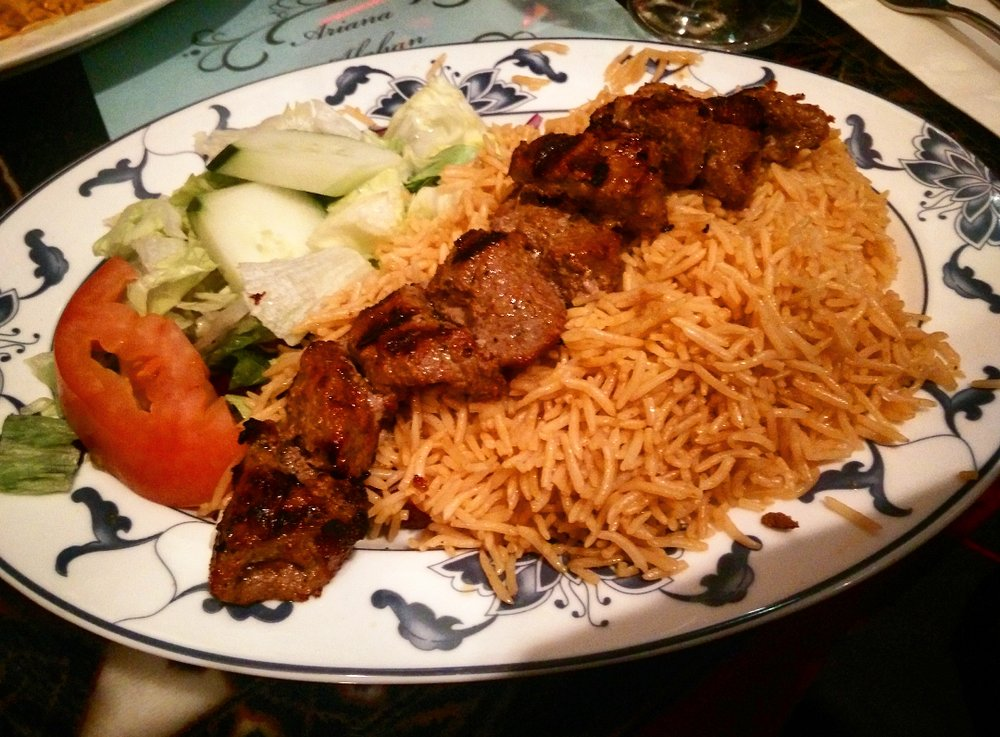 Ariana Afghan Kebab Restaurant en NY